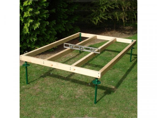 Homewood Adjustable Wooden Shed Base - 7 x 5ft