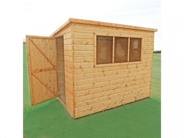 Homewood Caldey Shiplap Wooden Shed - 7 x 5ft