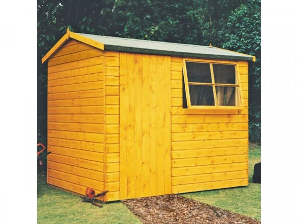 Homewood Suffolk Shiplap Wooden Gable Shed - 8 x 6ft