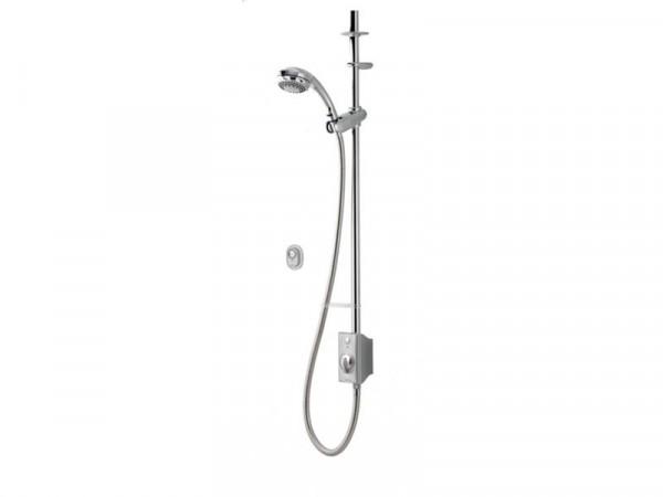 Aqualisa AQ Digital Exposed Gravity Pumped Shower - Chrome