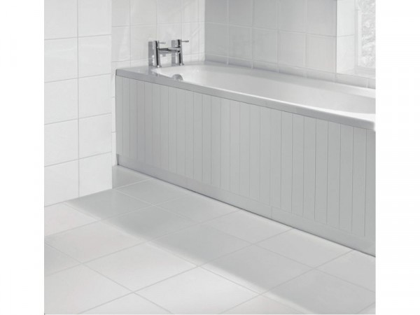 Argos Home Tongue and Groove Bath Panel - White