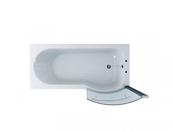 Eliana P Shaped Shower Bath