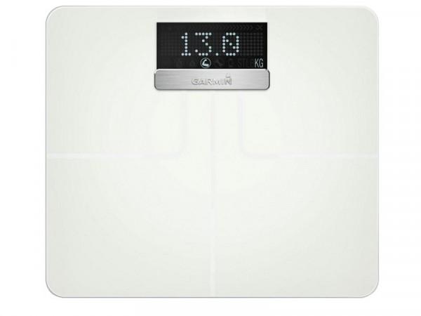 Garmin Index Smart Scales - White