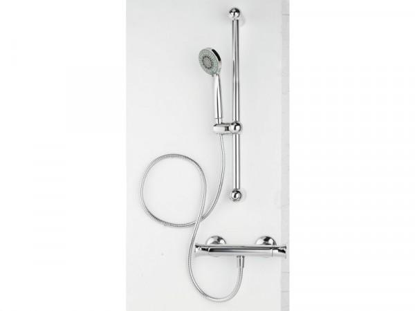 Eliana Plum Mixer Shower With Riser