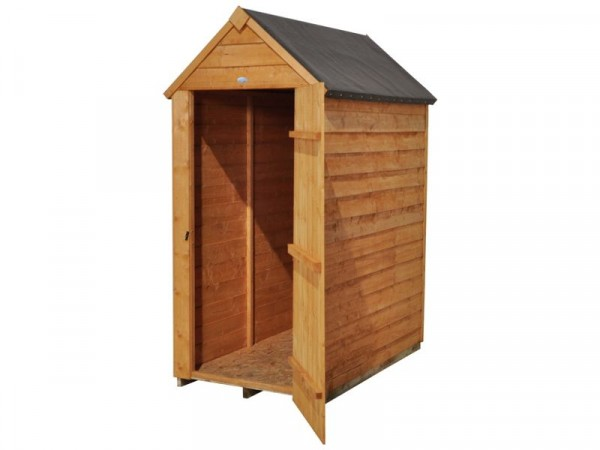 OVERLAP APEX 3X5 SHED ASSEMBLED