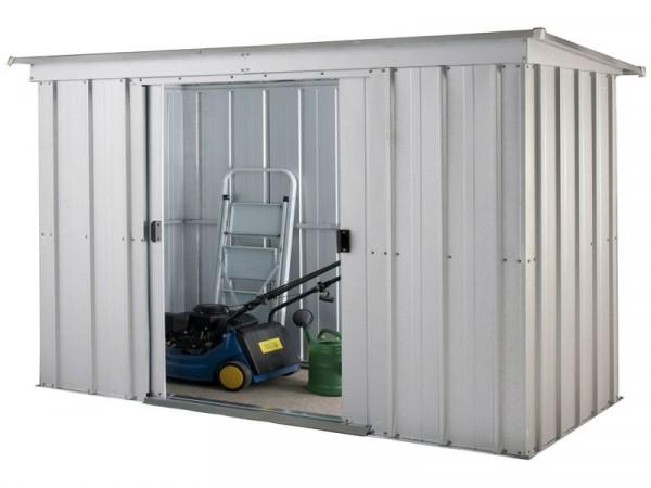 Yardmaster Pent Metal Garden Storage Unit - 6 x 4ft