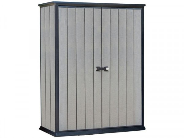 Keter High Store Garden Storage Shed - Grey