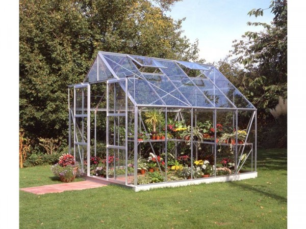 Halls Magnum Toughened 10 x 8ft Greenhouse with Base