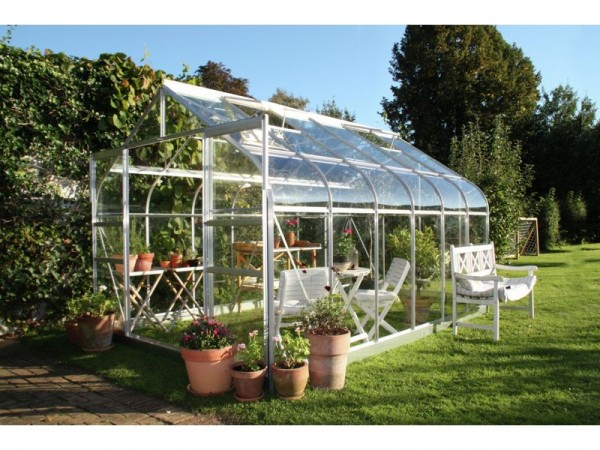 Halls Supreme Glass 12 x 8ft Greenhouse with Base