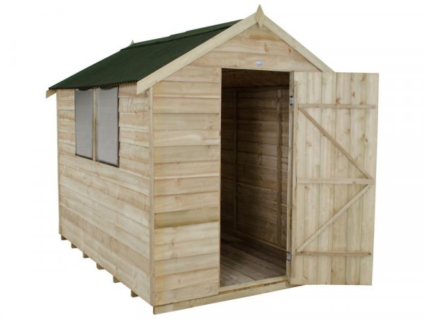 Forest Onduline Roof Overlap Wooden Shed - 6 x 8ft