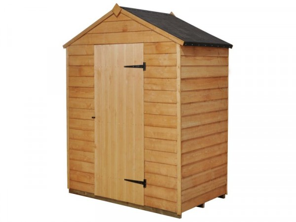 OVERLAP APEX 5X3 SHED ASSEMBLED