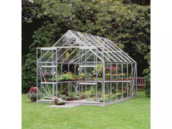 Halls Magnum Glass 12 x 8ft Greenhouse with Base