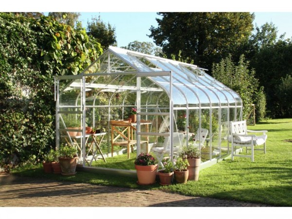Halls Supreme ToughGlass 14 x 8ft Greenhouse with Base