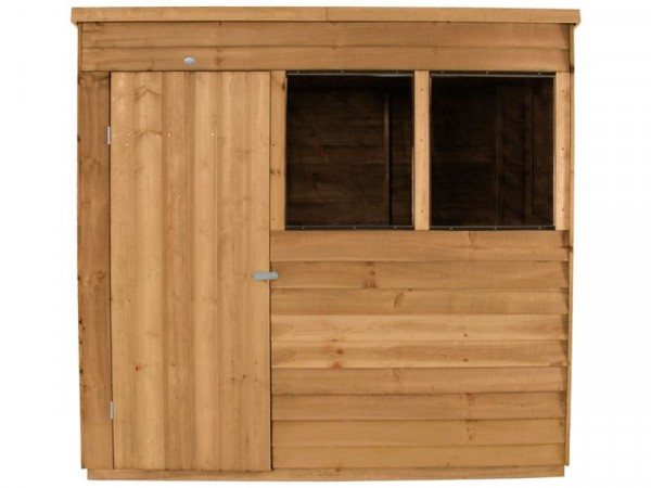 Forest Overlap Wooden Shed - 7 x 5ft