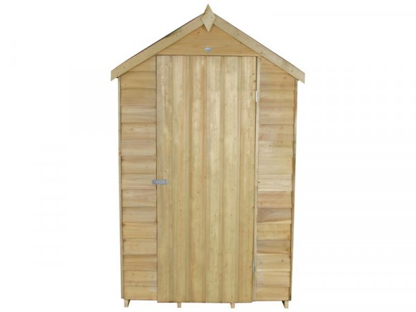 Forest Overlap Wooden Shed - 4 x 3ft