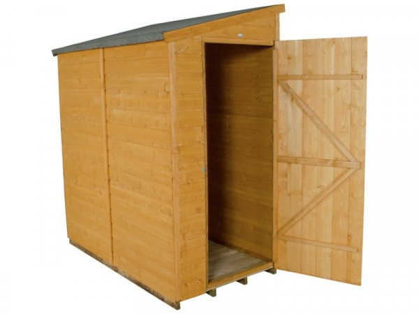 6X3 SHIPLAP APEX SHED ASSEMBLED