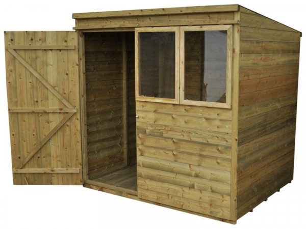 7X5 T G PTR PENT SHED