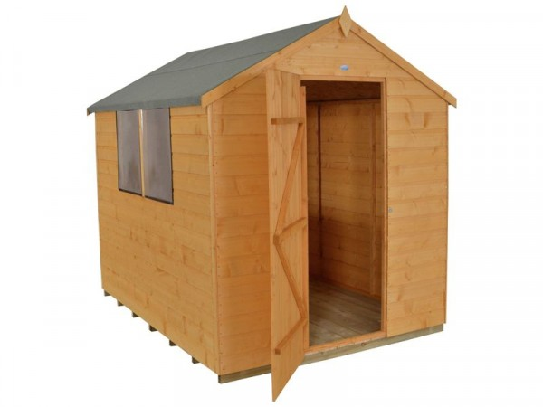 6X8 SHIPLAP APEX SHED ASSEMBLED