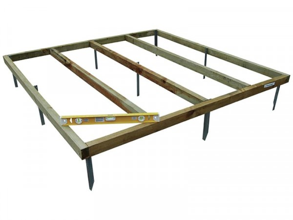 Forest 6 x 4ft Shed Bed