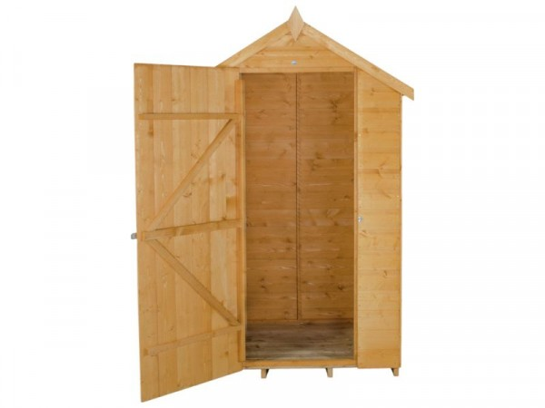 4X3 SHIPLAP APEX SHED NO WINDOWS