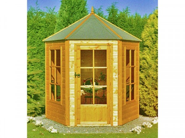 Homewood 6 x 7ft Hexagonal Gazebo Summer House