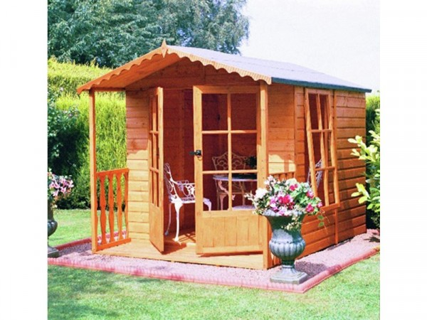 Homewood Buckingham 7 x 9ft Summer House with Veranda
