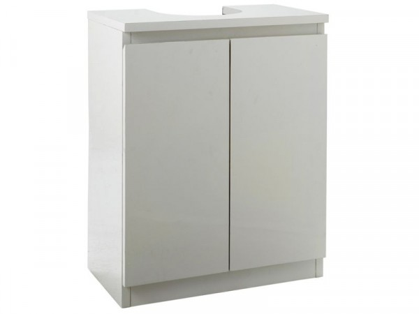 Argos Home Gloss Undersink Storage - White