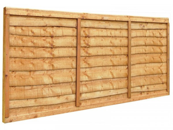 Forest 0.9m Closeboard Fence Panels - Pack of 3