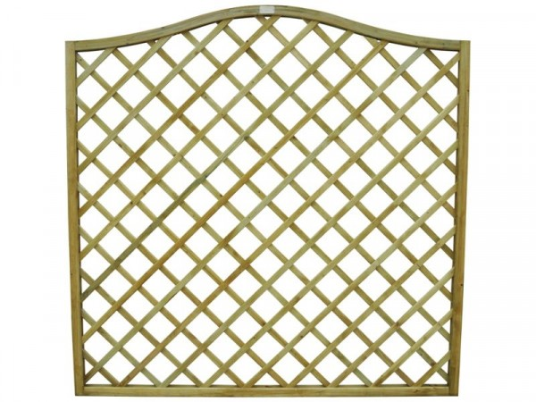 Forest 6ft (1.8m) Europa Hamburg Garden Screen - Pack of 3