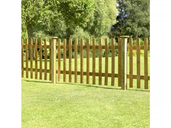 Forest 0.9m Pale Fence Panel - Pack of 4