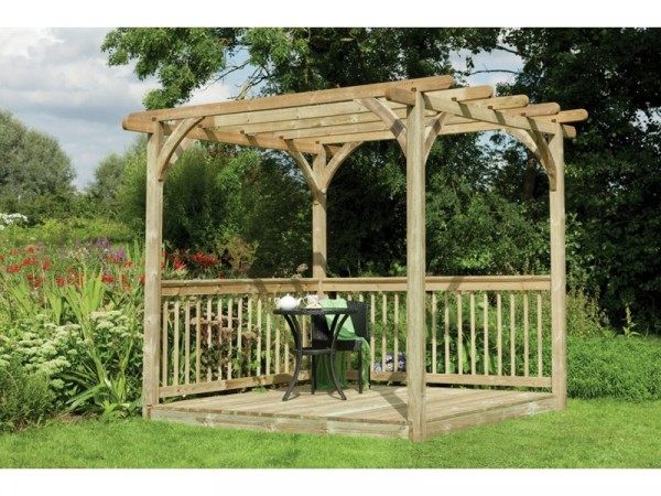 Forest Ultima Pergola Deck Kit