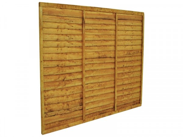 Forest Garden 1.5m Fence Panel - Pack of 4