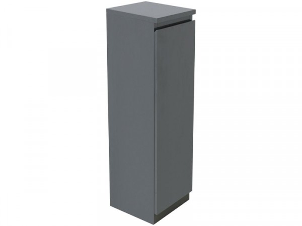 Argos Home Gloss Floor Cabinet - Grey