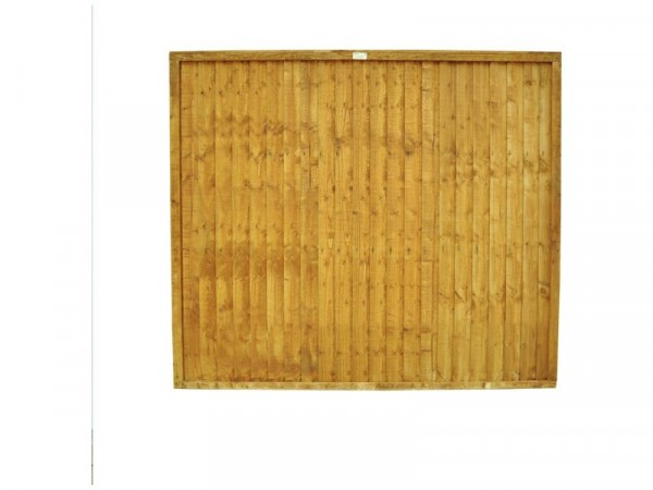 Forest 1.5m Closeboard Fence Panel - Pack of 5