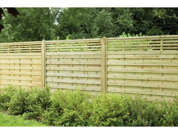 Forest 1.8m Kyoto Fence Panel - Pack of 4