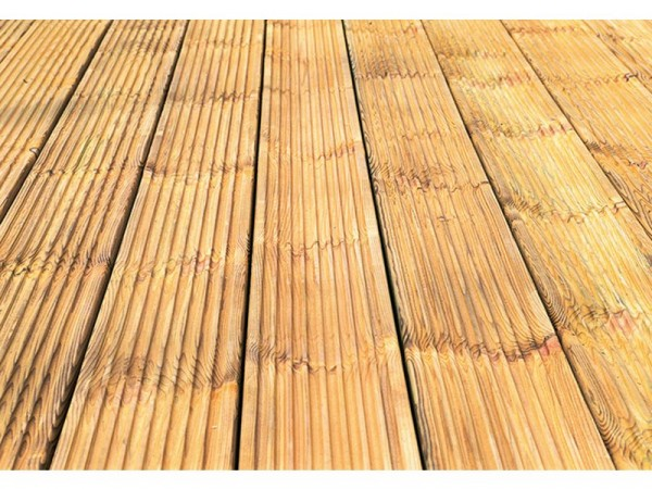 Forest Wooden Patio Deck Board - Pack of 10