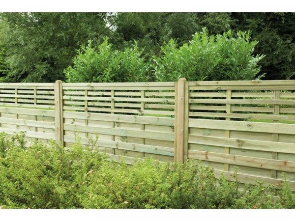Forest 1.2m Kyoto Fence Panel - Pack of 3