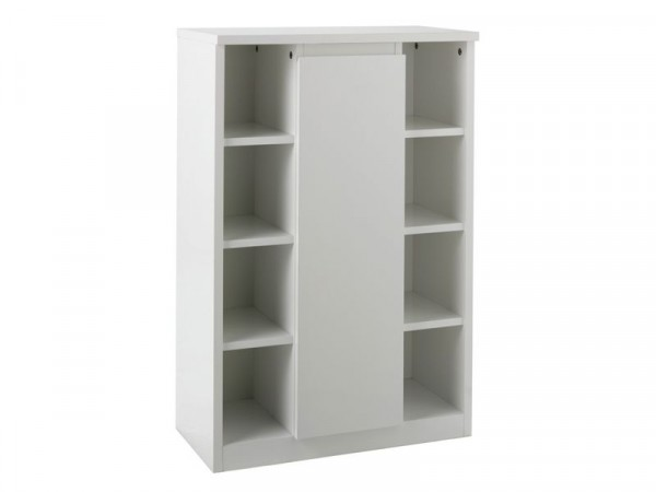 Argos Home Gloss Console Storage Cabinet - White