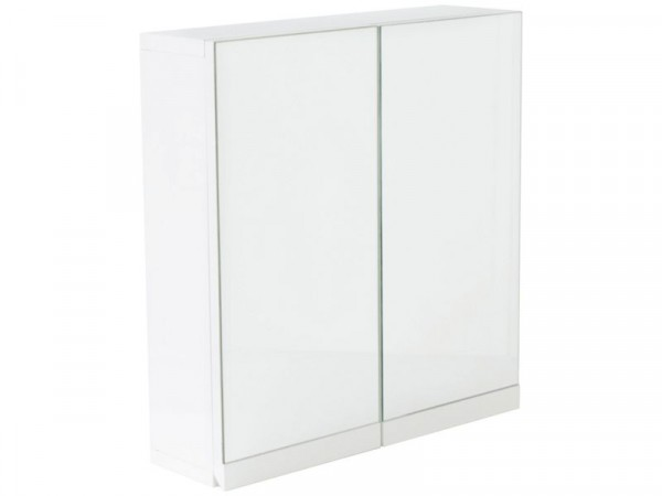 Argos Home Gloss 2 Door Bathroom Wall Cabinet - White