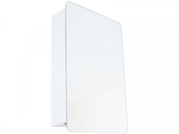 Argos Home Sliding Door Mirrored Bathroom Cabinet - White