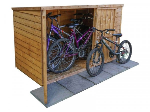 Mercia Wooden Overlap 4 x 6 Bike Store