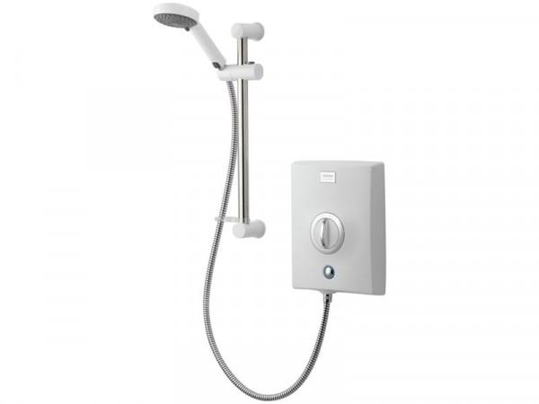 Aqualisa Quartz Electric Shower 8.5kW - White