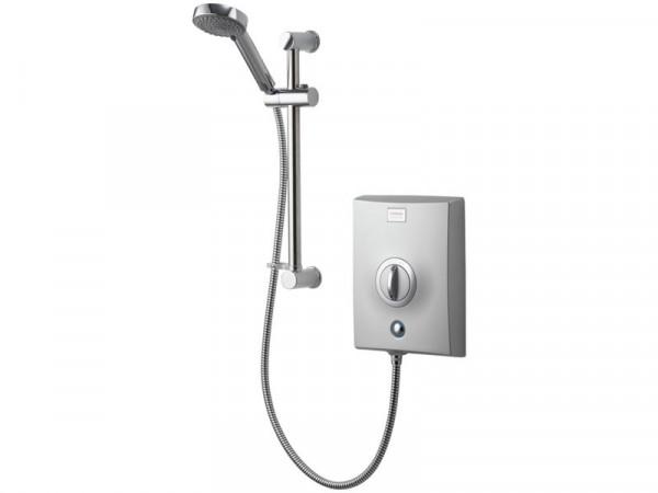 Aqualisa Quartz Electric Shower 8.5kW - Chrome