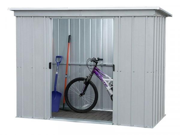 Yardmaster Pent Metal Garden Shed - 8 x 4ft