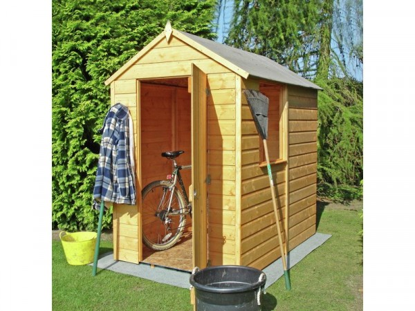 Homewood Shiplap Wooden Shed 6 x 4ft