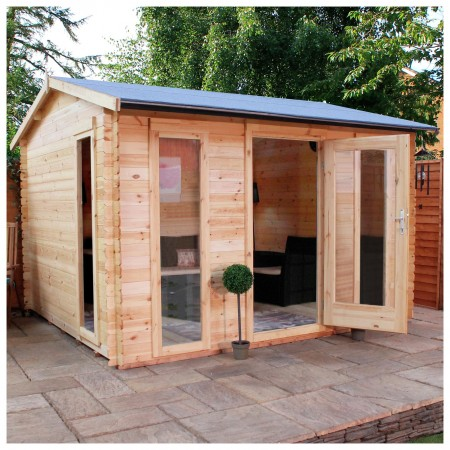 Mercia 3.5m x 3m Log Cabin