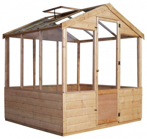 Mercia 6ft x 6ft Traditional Greenhouse