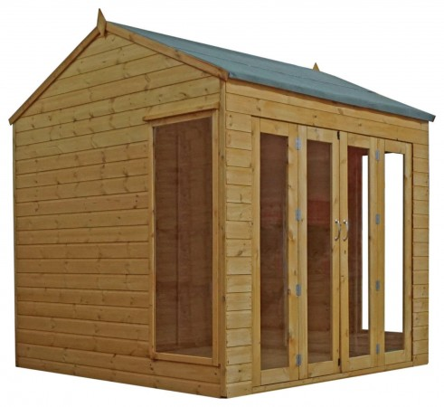 Mercia 8ft x 8ft Vermont Summerhouse