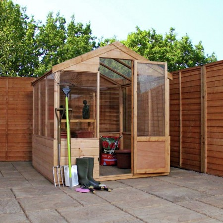 Mercia 8ft x 6ft Traditional Greenhouse