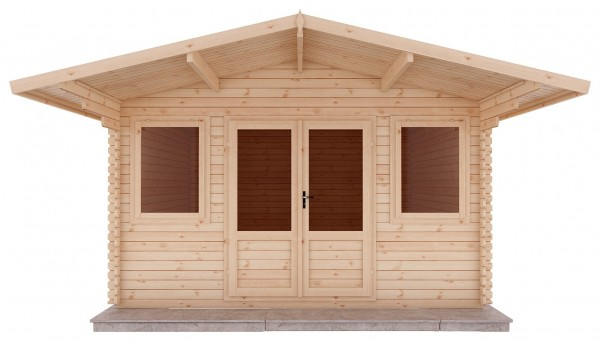 Mercia 5m x 5m Haven Log Cabin